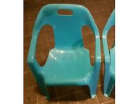 Childrens chairs/ garden chairs