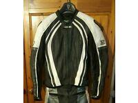 Frank Thomas XTI Leather Motorcycle Jacket
