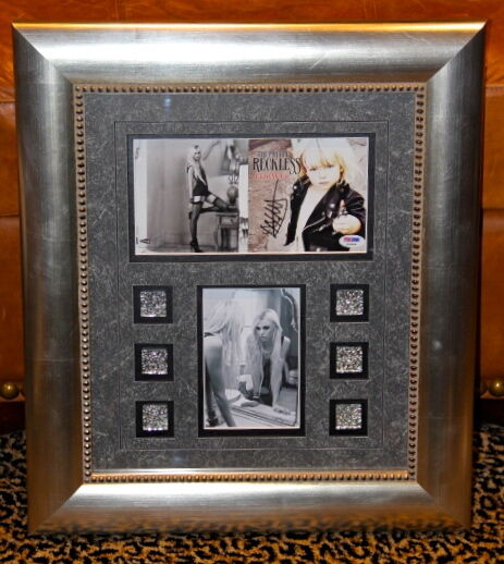 The Pretty Reckless Taylor Momsen signed CD photo FRAMED PSA DNA Light Me UP COA