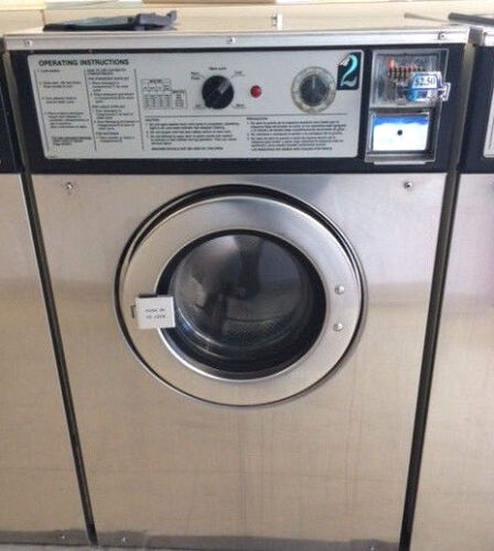 Wascomat 30lb washer W124 STAINLESS STEEL (Refurbished) New Bearings
