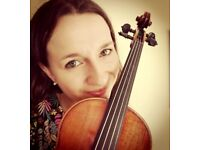 Experienced violin teacher, learn violin in a friendly relaxed atmosphere!