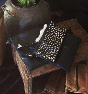 Gorgeous slimline leather handbags !!