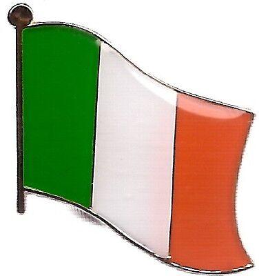 LOT OF 12 Ireland Flag Lapel Pins - Irish Flag Pin
