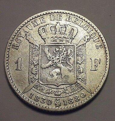 1 Franc 1 Frank Belgique Belgïe Belgium 1830 -1880 TTB/SUP KM# 38
