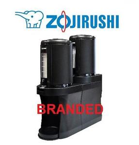 NEW ZOJIRUSHI BEVERAGE  STAND SET 2.5L BLACK THERMAL DISPENSERS INDUSTRIAL EVENT COFFEE 103656019