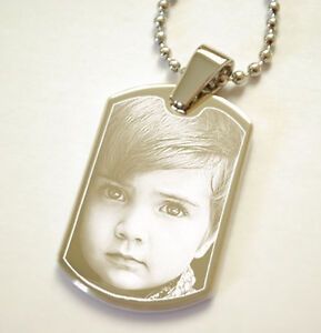Engraved Photo Gifts Personalised Gifts ID Tag Baby Gifts For Men Gifts for Her
