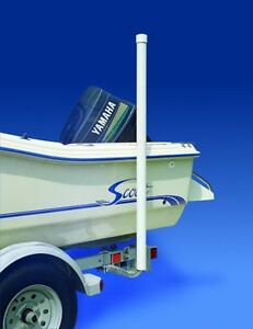 Boat-Trailer-40-inch-Galvanized-Guide-On-Post-Kit-With-PVC-Poles-By-CE-Smith