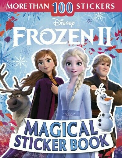 Disney Frozen 2 Magical Sticker Book, Paperback by March, Julia; Stock, Lisa,...