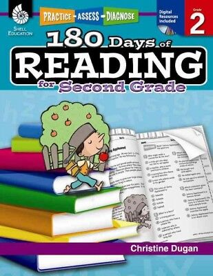 180 Days of Reading for Second Grade, Paperback by Dugan, Christine, ISBN 142... - 180 Days Of Reading