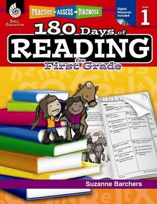 180 Days of Reading for First Grade, Paperback by Barchers, Suzanne, ISBN 142... - 180 Days Of Reading