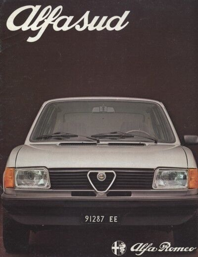 1977 1978 Alfa Romeo Alfasud Sales Brochure Book