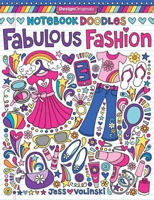 Notebook Doodles Fabulous Fashion, Paperback by Volinski, Jess, ISBN 14972001...](Creative Movie Costumes)