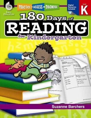 180 Days of Reading for Kindergarten, Paperback by Barchers, Suzanne, ISBN 14... - 180 Days Of Reading