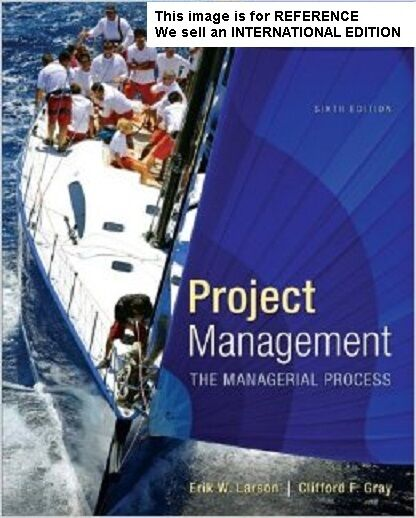 Project Management: the Managerial Process with MS Project(Int' Ed)6E WITHOUT CD