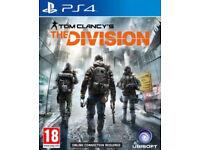 PS4 videogames (EldersScroll/Division/