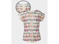 FADED GLORY, girls lace back floral top
