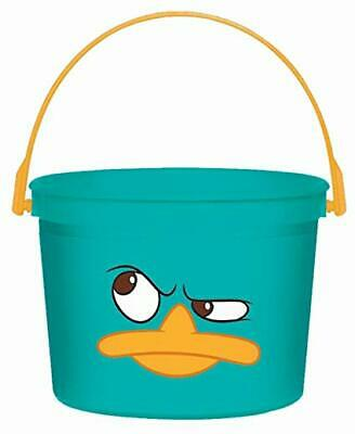 Disney Phineas and Ferb Agent P Perry Party Favor Plastic Container Bucket NEW (Party Favor Buckets)