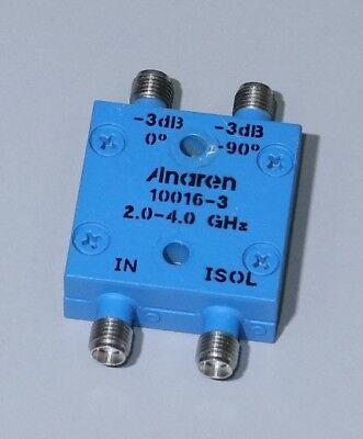 Anaren 10016-3 Hybrid Coupler 3 Db 90 2 To 4 Ghz 100 Watts