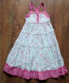 Gorgeous Lined Dress Age 7