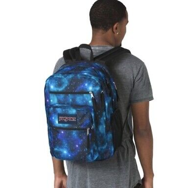 JanSport Big Student Backpack Galaxy Print