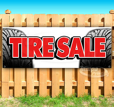 Tire Sale Advertising Vinyl Banner Flag Sign Many Sizes Usa