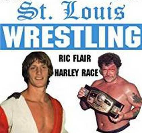 12 Pro Wrestling DVDs: ST. LOUIS WRESTLING from the 80