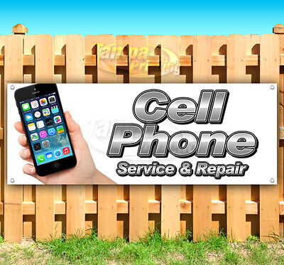 Cell Phone Service   Repair Advertising Vinyl Banner Flag Sign Many Sizes Iphone