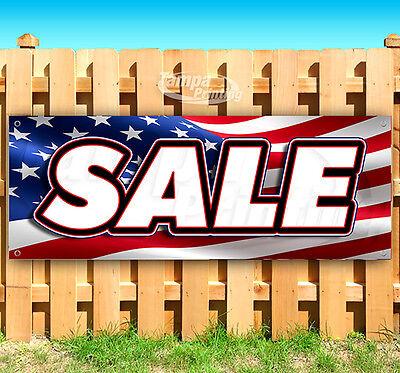 Sale American Flag Advertising Vinyl Banner Flag Sign 15 18 20 30 48 52