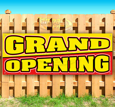 Grand Opening Advertising Vinyl Banner Flag Sign Many Sizes Usa