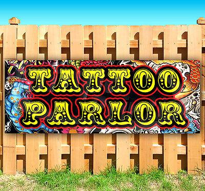 Tattoo Parlor Advertising Vinyl Banner Flag Sign 15 18 20 24 30 48 52