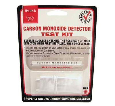 Heuck Carbon Monoxide Detector Test Kit - (Home Gas Safety) * FREE U.S.SHIPPING  ()