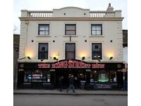 Assistant Manager/Manageress at The King Street Run
