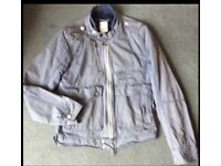 DIESEL DESIGNER Mens Biker Jacket, Retro Vintage, Size Large