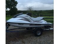 GP 1200R JET SKI WITH TRAILER & EXTRAS