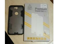 HTC One A9 case and Glass Screen Protector