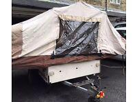 Pennine Aztec folding camper / trailer tent PARTS - COMPLETE CABIN CANVAS - Conway