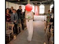 Veromia blush pink bridesmaid/prom dress size 12/14