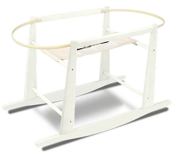 Jolly Jumper - Rocking Moses Basket Stand - White