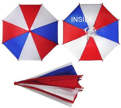 AMERICAN UMBRELLA HATS crazy hat flag cap sun shade USA head cover novelty new ](Novelty Umbrella)