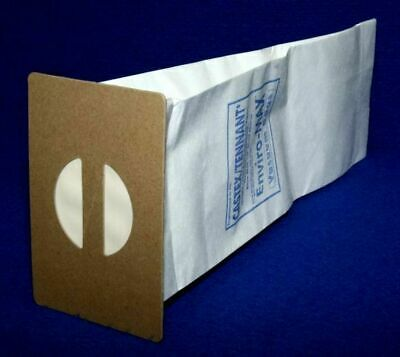 5 Packages Of 10 Tennant Nobles 612058 Vacuum Bags 3320 Upright Lite Track Viper