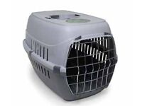 Plastic pet cage