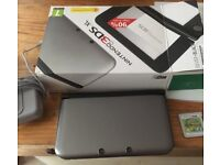 Nintendo 3ds XL immaculate condition with mario tennis