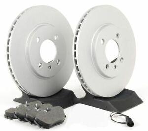 Premium Coated Brake Rotors (Pair) & Ceramic Pads 980317 (300mm)