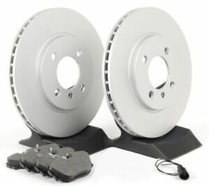 07-12 Veracruz FRONT Premium Coated Rotors Ceramic Pads 980635