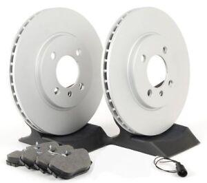 09-16 Audi 345mm FRONT Premium Coated Rotors Ceramic Pads 980696