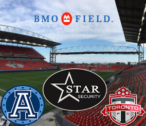 Security Guards Needed for BMO Field