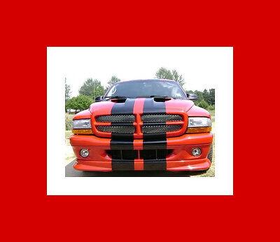 All Year Dodge Dakota 10  Plain Rally Stripes Stripe Graphics R T