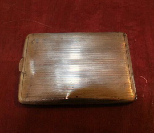 Ronson Sterling Cigarette Case