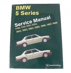Bmw E28 1982 1988 528e 533i 535i 535is M5 Service Repair