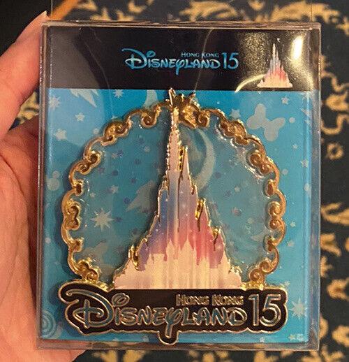 HKDL Hong Kong Disney Pin 2020 New Castle - Princess 15 Anniversary Jumbo Pin
